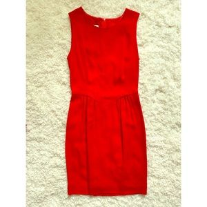 Moschino Cheap and Chic Red Darted Mini Dress 2